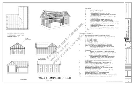 build blueprints online garage plans blueprints construction drawings sds