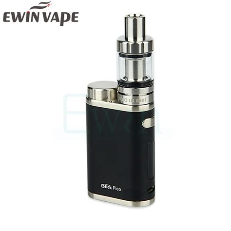 Kp778 Elego Eleaf Istick Pico Eleaf Tc Box Mod Fact Kode Tyr834 1 original eleaf istick pico starter kit 75w tc box mod 2ml 4ml melo3 atomizer with vw bypass tc
