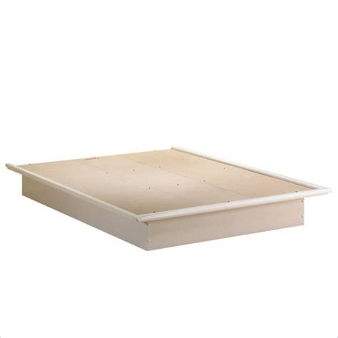 Platform Bed With Mattress Platform Bed And Molding By South Shore Beds And Mattresses