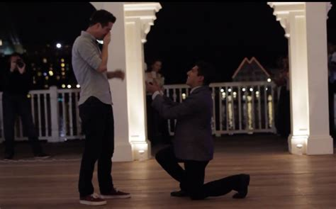 Man Proposes to Boyfriend with Elaborate Magical Disney