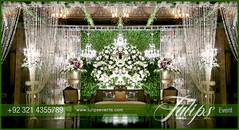 Home Design For Pakistan by Green Reception Stage Decoration Theme Planner In Pakistan