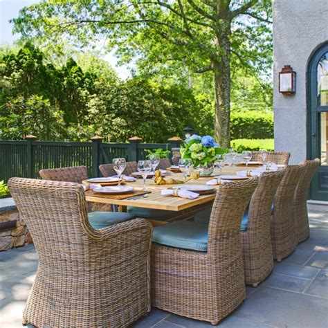 kingsley patio furniture kingsley bate sag harbor outdoor dining collection
