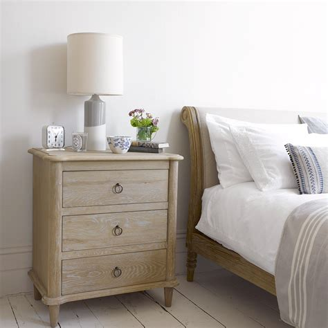 weathered oak chest of drawers camille loaf