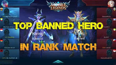 mobile legend codashop top 4 banned di ranked match mobile legends codashop