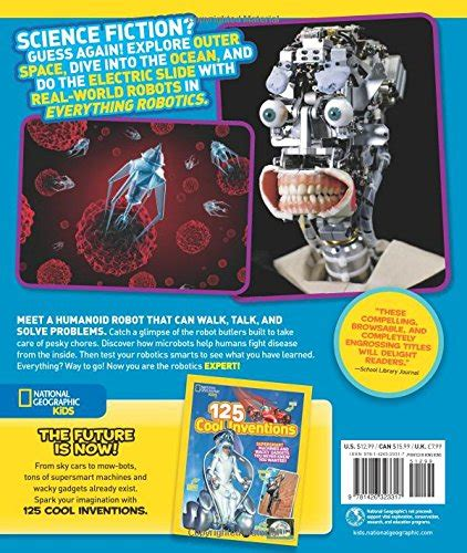 libro nat geo readers robots national geographic kids everything robotics all the photos facts and fun to make you race