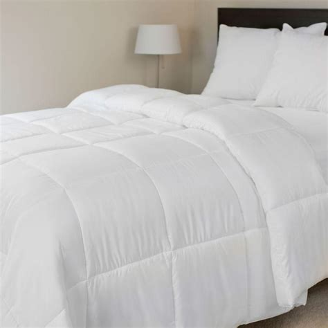 white down comforters lavish home ultra soft white down alternative full queen