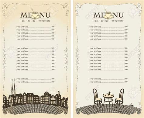 30 Blank Menu Templates Ai Psd Docs Pages Free Premium Templates Blank Restaurant Menu Template