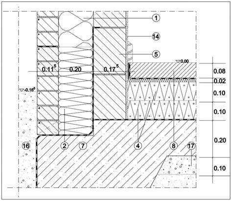 sockel zweischaliges mauerwerk 3 16 1 13 passivhausdetails architektenordner