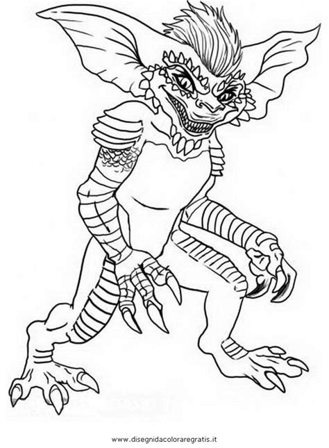 Gremlins Coloring Pages free gremlins outline coloring pages