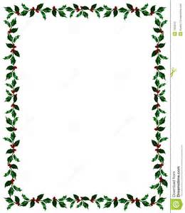 christmas holly frame clip path stock photo image 7353010