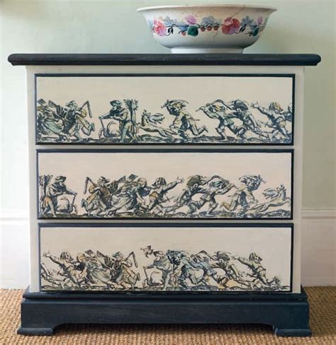 Decoupage Dresser - wood decoupage ideas tarman