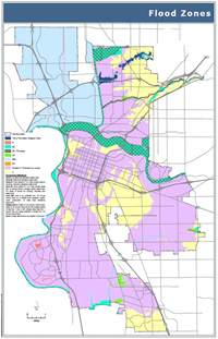 california flood zone map flood maps city of sacramento