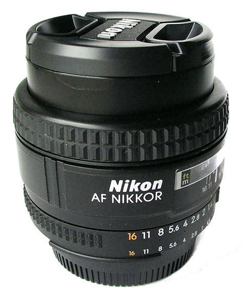 Jual Lensa Nikon Afd 50mm F1 8 nikkor af 50mm f 1 4d