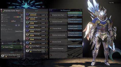 insect glaive styx high damage decoration friendly