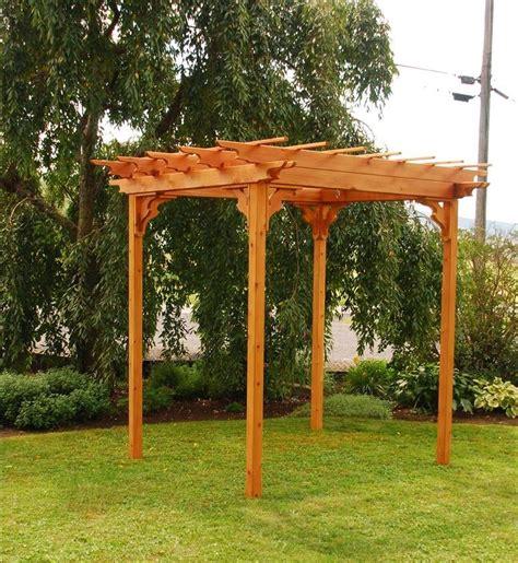 cedar pergola swing elegant western red cedar pergola with swing hangers the