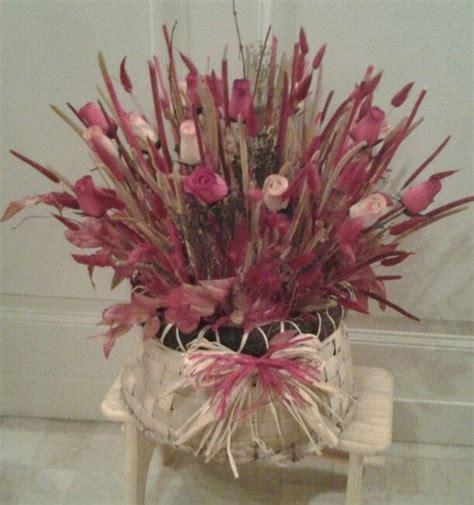 composizione di candele 30 best composizioni con fiori secchi di stoffa di legno