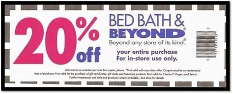bed bath and beyond coupon entire purchase 20 things you need to know about those famous bed bath