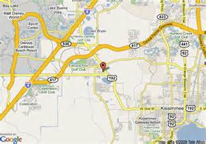 map of hotels in kissimmee florida map of roof inn kissimmee kissimmee