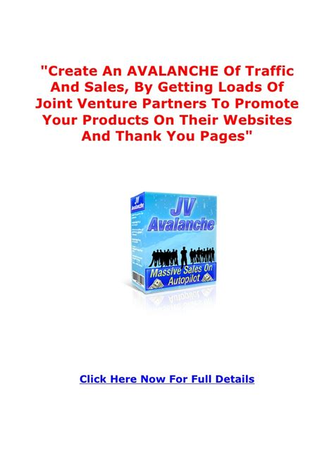 Joint Venture Giveaways - joint venture for success