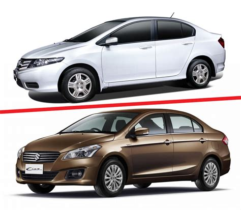 City Honda Suzuki Suzuki Ciaz Vs Honda City A Battle Of Sedans Ciaz