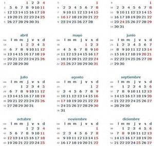Calendario 2018 Ministerio Interior Conoc 233 Los Feriados 2015 Tu Noticia