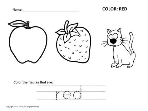 96 exercise coloring pages for preschoolers sheets preschool coloring worksheets free printables color red