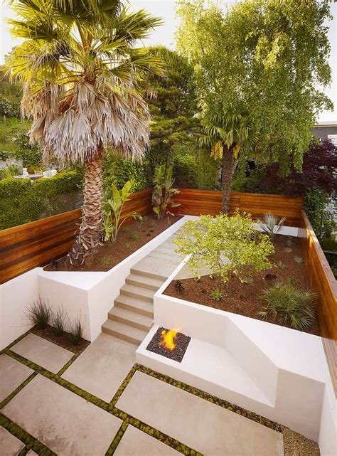 Patio Backyard Ideas How To Turn A Steep Backyard Into A Terraced Garden