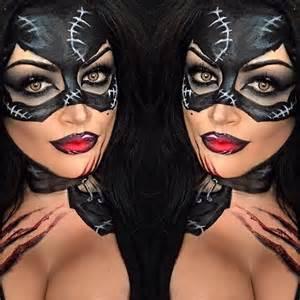 Cat Costume Halloween 1000 Id 233 Es 224 Propos Catwoman Makeup Sur