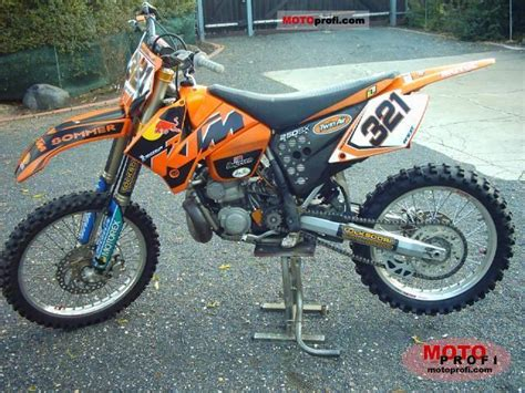 2004 Ktm 250 Exc Review Image Gallery 2004 Ktm 250 Sx