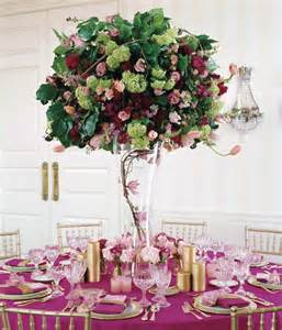 High Vase Centerpieces 28 Centerpieces For Round Tables In Different Styles