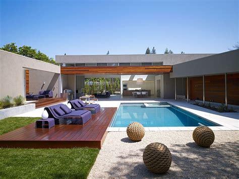 Amazing Modern U Shaped House Plans #10: Architecture-menlo-park-residence.jpg