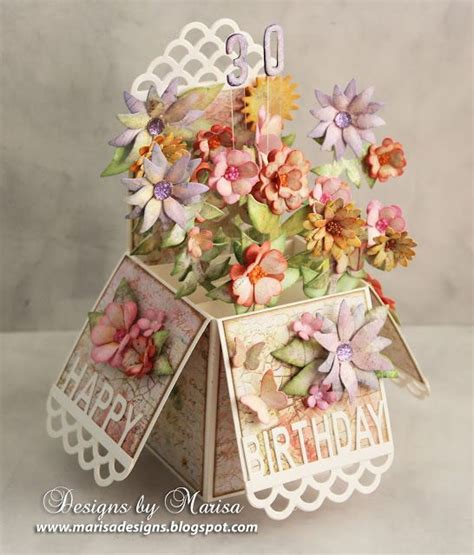 exploding flower card template best 25 exploding box card ideas on