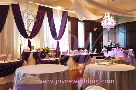 Lila Deko Hochzeit by Purple Wedding Decoration Joyce Wedding Services