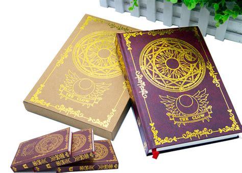 new japanese anime card captor magic notebook diary