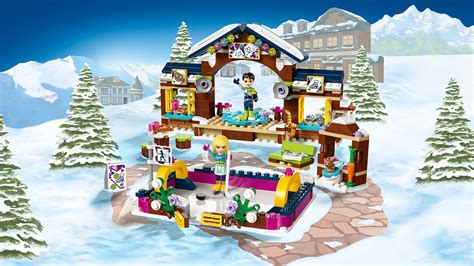 41322 Snow Resort Ice Rink   Products   LEGO® Friends