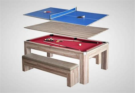 ping pong table pool table 3 in 1 combination billiards and ping pong table is