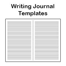print your own papes blank journal and broadway musical gift books free writing journal templates make your own journal