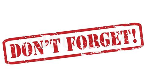 Dont Forget by Don T Forget Dominion Voice