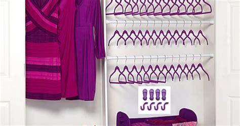 hsn closet organizer mangano huggable hangers 45 set with