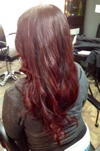 cherry hair color fall hair color trend cherry cola