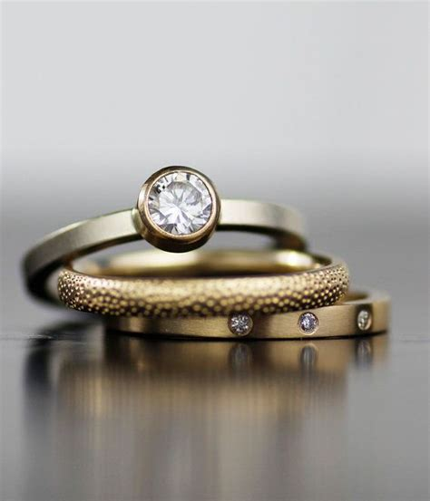 Ehering Verlobungsring Set by The 25 Best Modern Wedding Rings Ideas On