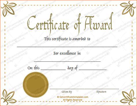 8 awards certificate template bookletemplate org