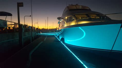 led boat bumper lights led dock bumper jellux