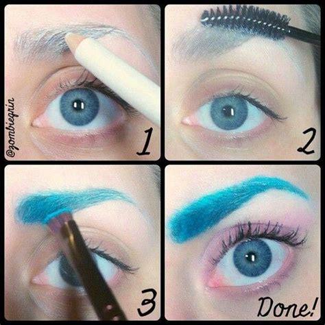 colored eyebrows colored eyebrows florabac