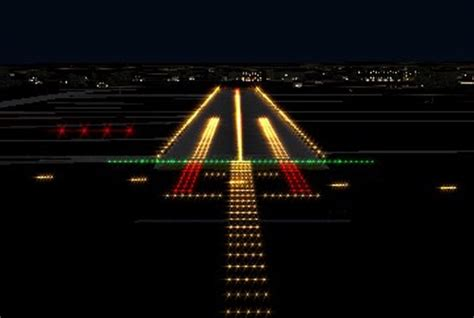 Airport Lighting by Airport Runway Lights