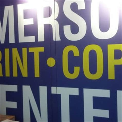 Emerson College Letterhead Emerson College Print Copy Center Printing Services Back Bay Boston Ma Reviews Photos