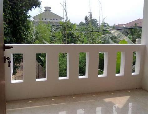 contoh balkon tembok rumah minimalis balkon minimalis