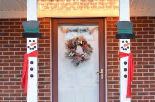 Main Dishes For Christmas - craft create cook snowman porch decorations craft create cook
