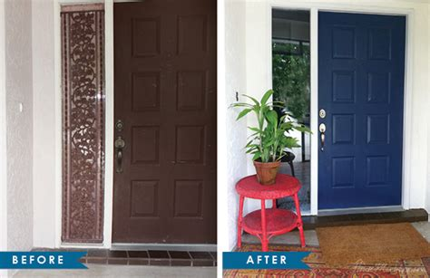 Fall Front Door Before And Afters Front Door Before And After