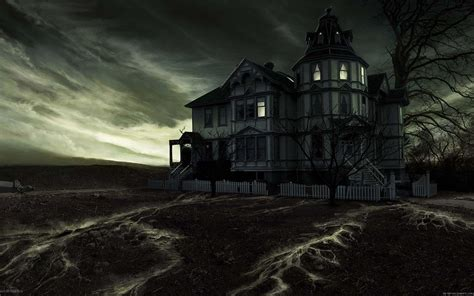 wallpaper dark house wallpaper haunted house under dark sky my hd wallpapers